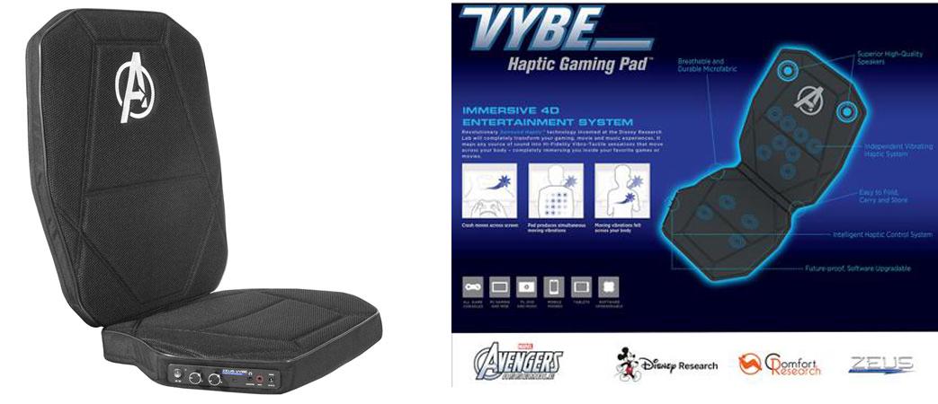 Vybe Haptic Gaming Pad